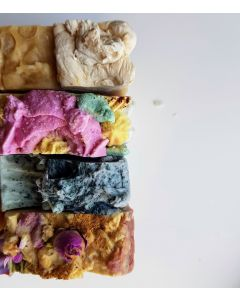 4 x Botnical natural homemade artisan soap gift bundle