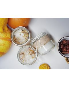 Pumpkin Spice Natural Soy Wax Candle