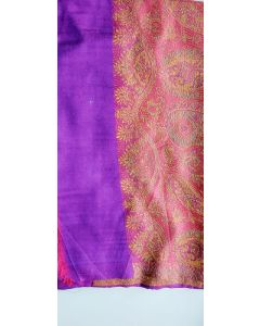 Hand Made in Kashmir ,  20% Silk and 80% Kashmir with Beautiful Designs 4