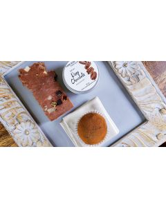 Deep Chocolate Natural sweet delight for our Body, Brownie Soap , Cocoa Cream Butter and tasty Face Scrub